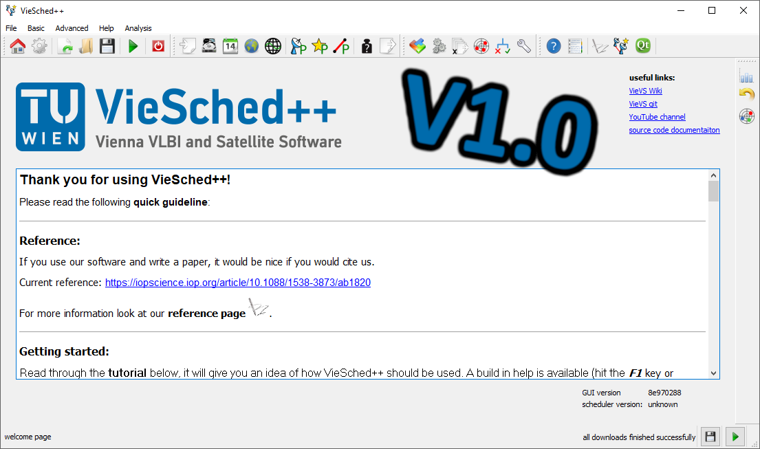 VieSched++ V1.0 released