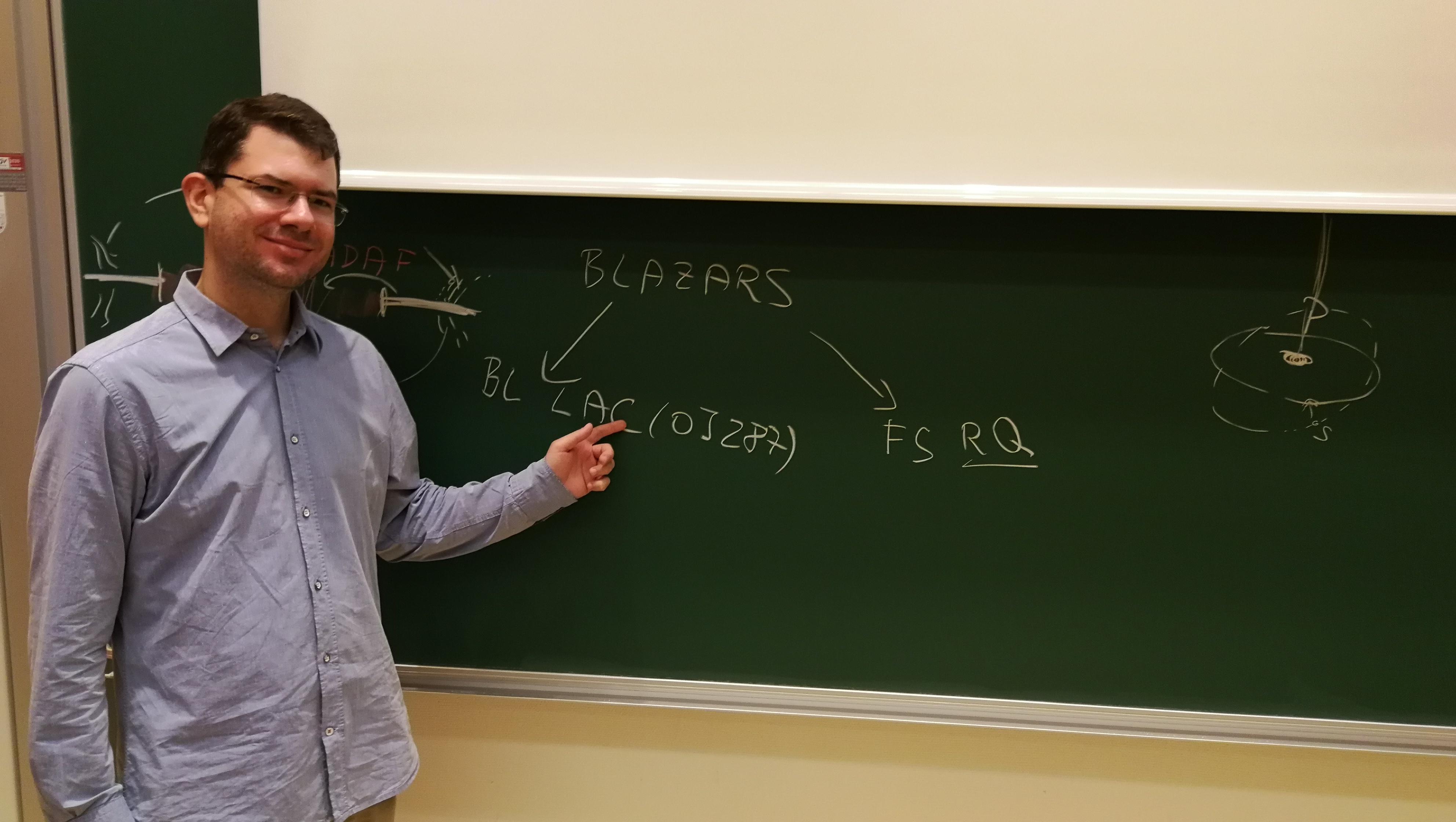 Seminar on jet precession in VLBI data by Michal Zajaček
